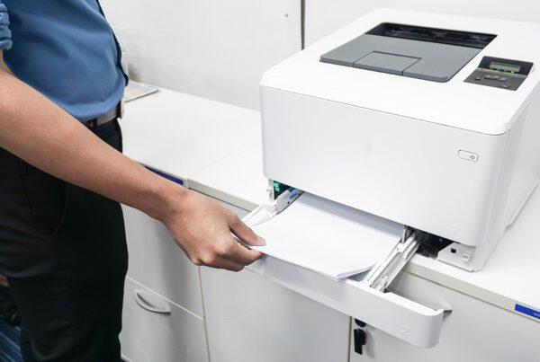 gestão de impressão
