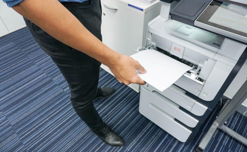 outsourcing de impressão no setor público
